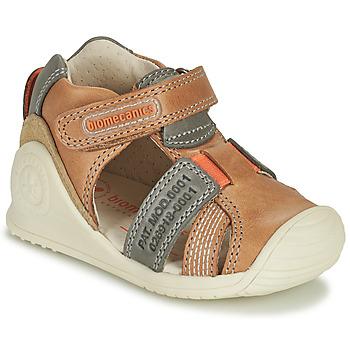 Shoes Boy Sandals Biomecanics 212135 Cognac