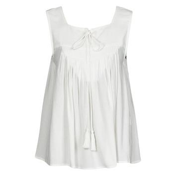 material Women Tops / Sleeveless T-shirts See U Soon 21111205B White