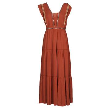 material Women Long Dresses See U Soon 21121116 Red