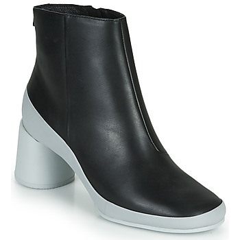 Shoes Women Ankle boots Camper UPRIGHT Black / White