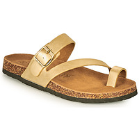 Shoes Women Mules Chattawak MAGALY Gold