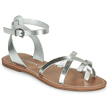 Shoes Women Sandals Chattawak PERLA Silver