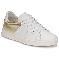 Shoes Women Low top trainers Myma PIGGE White / Gold