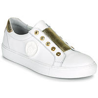 Shoes Women Low top trainers Myma PAGGI White / Gold