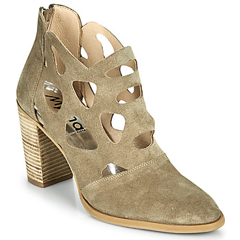 Shoes Women Ankle boots Myma PAGGE Taupe