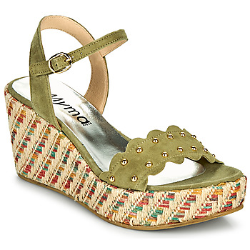 Shoes Women Sandals Myma POLIDO Kaki