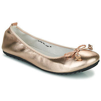 Shoes Women Ballerinas Mac Douglas ELIANE Pink / Gold