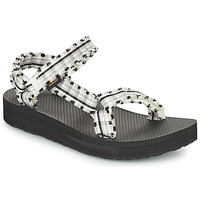 Shoes Women Sandals Teva MIDFORM FRAY Black / White