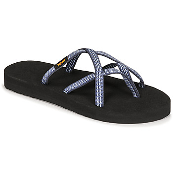 Shoes Women Flip flops Teva OLOWAHU Blue / Multi