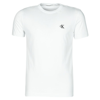 material Men short-sleeved t-shirts Calvin Klein Jeans YAF White