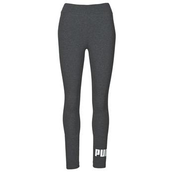 material Women leggings Puma ESS LOGO LEGGING Grey / Dark