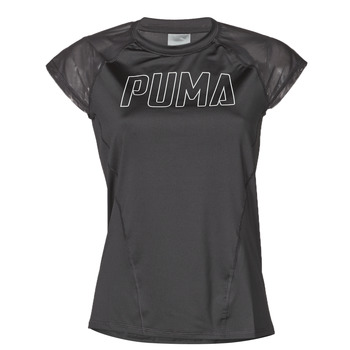 material Women short-sleeved t-shirts Puma WMN TRAINING TEE F Black