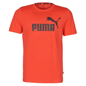 material Men short-sleeved t-shirts Puma ESSENTIAL TEE Red