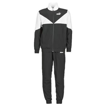 material Men Tracksuits Puma Woven Suit CL Black / White