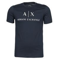 material Men short-sleeved t-shirts Armani Exchange 8NZTCJ-Z8H4Z Marine