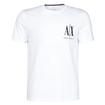 material Men short-sleeved t-shirts Armani Exchange 8NZTPH-ZJH4Z White