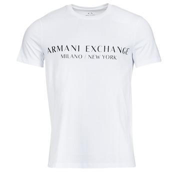 material Men short-sleeved t-shirts Armani Exchange 8NZT72-Z8H4Z White