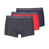Underwear Men Boxer shorts Eminence MATELOT X3 Marine / Red / Grey