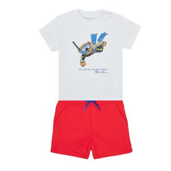 material Boy Sets & Outfits Polo Ralph Lauren SOULA Multicolour