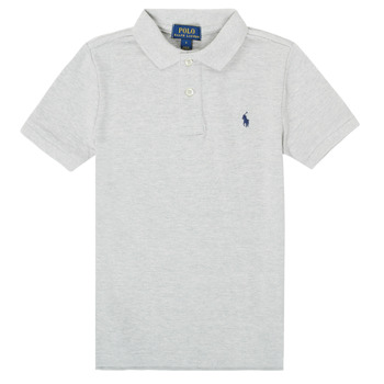 material Boy short-sleeved polo shirts Polo Ralph Lauren TUSSA Grey