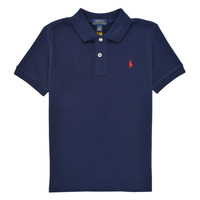 material Boy short-sleeved polo shirts Polo Ralph Lauren TUSSA Marine