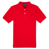 material Boy short-sleeved polo shirts Polo Ralph Lauren TUSSA Red