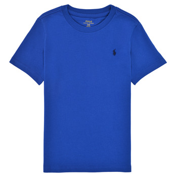 material Boy short-sleeved t-shirts Polo Ralph Lauren ELIVA Blue / Sapphire