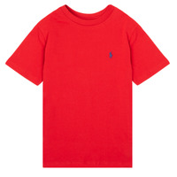 material Boy short-sleeved t-shirts Polo Ralph Lauren SOLLA Red