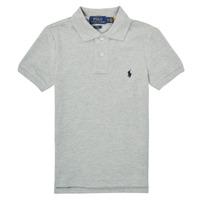 material Boy short-sleeved polo shirts Polo Ralph Lauren FRANCHI Blue