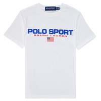 material Boy short-sleeved t-shirts Polo Ralph Lauren DRONI White