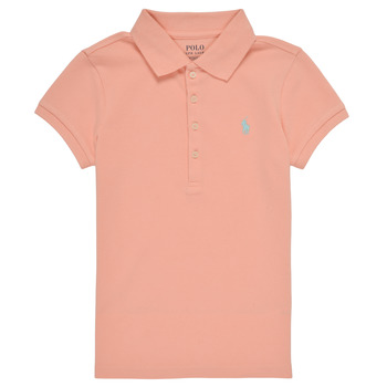 material Girl short-sleeved polo shirts Polo Ralph Lauren DEVALA Pink
