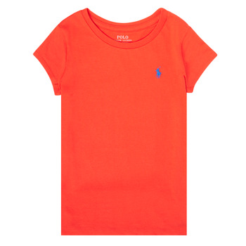 material Girl short-sleeved t-shirts Polo Ralph Lauren SIDONIE Red
