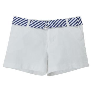 material Girl Shorts / Bermudas Polo Ralph Lauren FILLI White