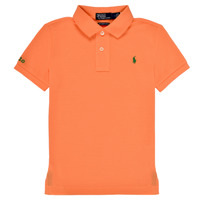 material Boy short-sleeved polo shirts Polo Ralph Lauren POLLIE Orange