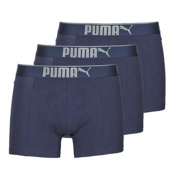 Underwear Men Boxer shorts Puma SUEDED COTTON X4 Marine