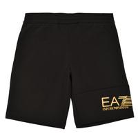 material Boy Shorts / Bermudas Emporio Armani EA7 3KBS53-BJ05Z-1200 Black / Gold