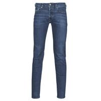 material Men Skinny jeans Diesel SLEENKER Blue / Dark