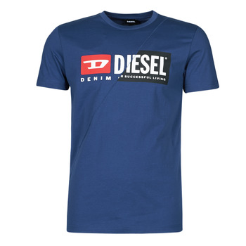 material Men short-sleeved t-shirts Diesel 00SDP1-0091A-8MG Marine