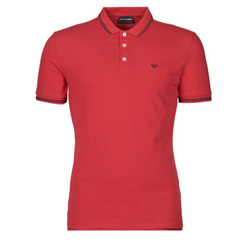 material Men short-sleeved polo shirts Emporio Armani 8N1F30-1JPTZ Red