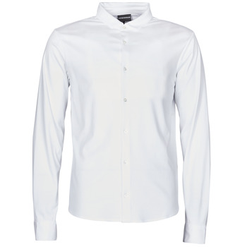 material Men long-sleeved shirts Emporio Armani 8N1CH6-1JPRZ White