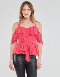 material Women Blouses Guess SL PAULINA TOP Pink
