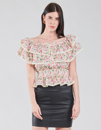 material Women Blouses Guess SS NEW ISOTTA TOP Pink