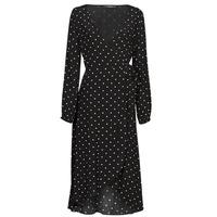 material Women Long Dresses Guess NEW BAJA DRESS Black