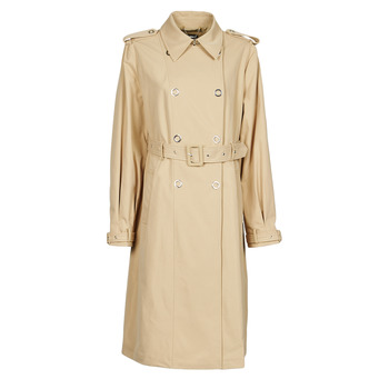 material Women Trench coats Guess PEGGY TRENCH Beige