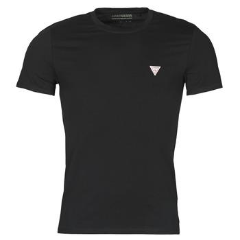 material Men short-sleeved t-shirts Guess CN SS CORE TEE Black