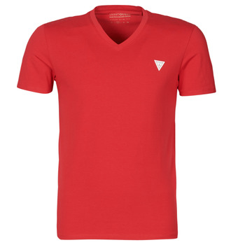 material Men short-sleeved t-shirts Guess VN SS CORE TEE Red