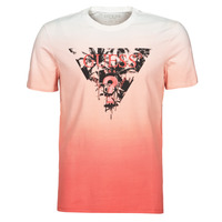 material Men short-sleeved t-shirts Guess PALM BEACH CN SS TEE Red
