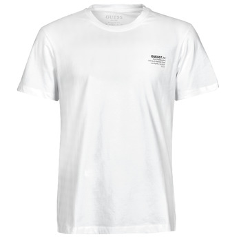material Men short-sleeved t-shirts Guess ORGANIC BASIC CN SS TEE White