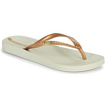 Shoes Women Flip flops Ipanema IPANEMA ANAT BRASILIDADE FEM Beige / Gold