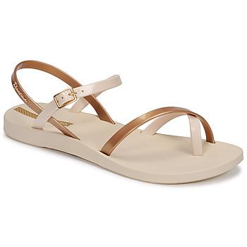 Shoes Women Sandals Ipanema Ipanema Fashion Sandal VIII Fem Beige / Gold